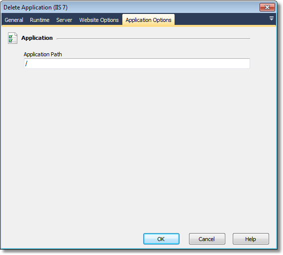IIS7_DeleteApplication