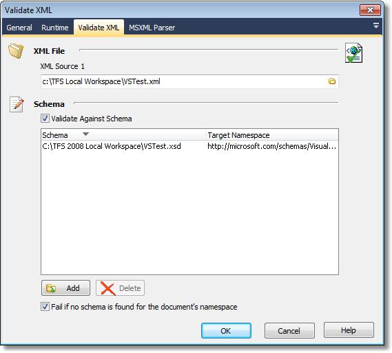 validating xml file current